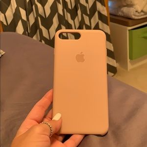 Pink apple iPhone 7 Plus case